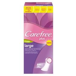 CAREFREE Прокладки ежедневные plus large fresh ароматизированные 20 шт.