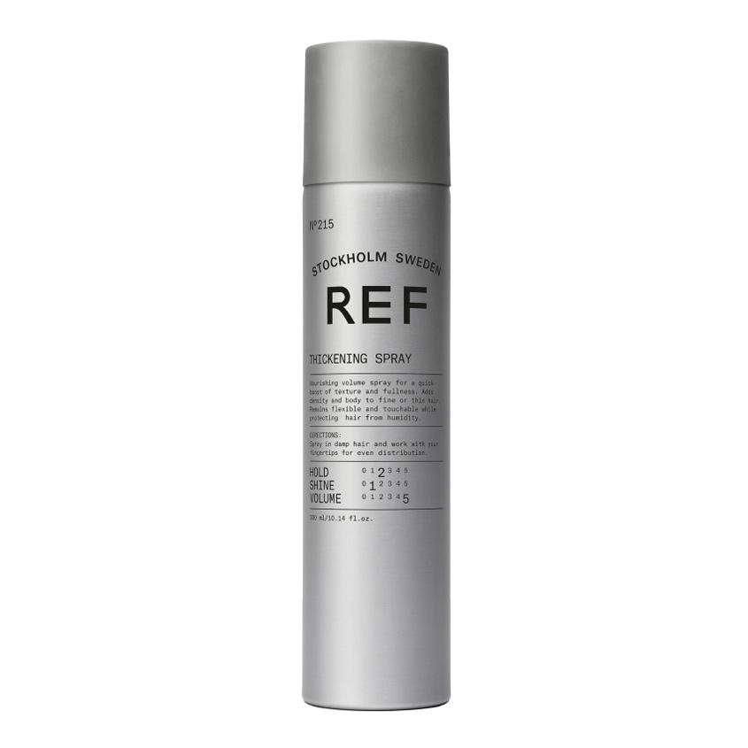 REF HAIR CARE Лак для придания объема волосам питательный №215