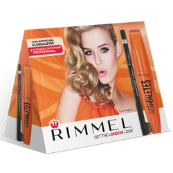 RIMMEL ����� � ����� Scandaleyes black ���� Scandaleyes black + �������� Professional eyebrow