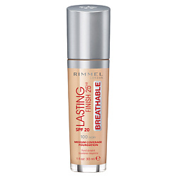 RIMMEL Тональный крем Lasting Finish Breathable № 100 Ivory