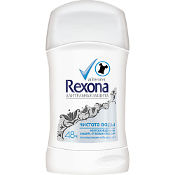 REXONA Антиперспирант-стик Чистая вода 40 мл