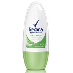 REXONA Роликовый антиперспирант с экстрактом Алое Вера 50 мл