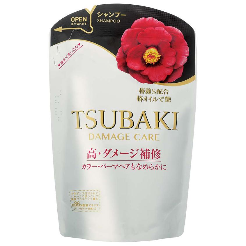 TSUBAKI Шампунь для восстановления поврежденных волос