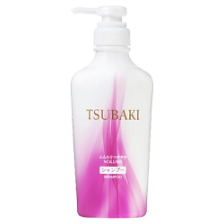 TSUBAKI Шампунь Объемные и блестящие VOLUME & SHINE 330 мл (сменный блок)