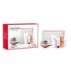 SHISEIDO Набор с BIO-PERFORMANCE Лифтинг кремом интенсивного действия и косметичкой 50 мл + 30 мл + 5 мл + 7 мл + 3 мл shiseido очищающая эмульсия с кремовой текстурой 200 мл