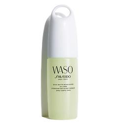 SHISEIDO Мгновенно матирующая увлажняющая эмульсия, без содержания масел WASO 75 мл