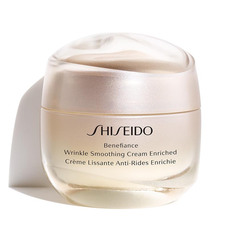 SHISEIDO Питательный крем для лица, разглаживающий  морщины BENEFIANCE WRINKLE SMOOTHING CREAM ENRICHED