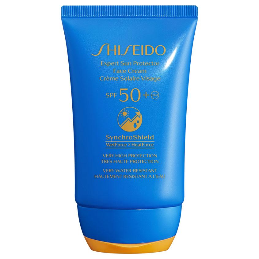 Купить SHISEIDO Солнцезащитный крем для лица EXPERT SUN SPF50+