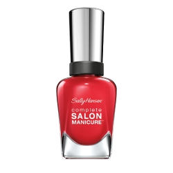 SALLY HANSEN Лак для ногтей Complete Salon Manicure № 570 Right Said Red, 14.7 мл уход за кутикулой sally hansen complete salon manicure cuticle eraser balm объем 8 г