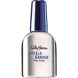 SALLY HANSEN Верхнее покрытие-сушка с зеркальным блеском Mega Shine Extended Wear Top Coat 13,3 мл opi покрытие верхнее быстрая сушка rapidry top coat 15 мл