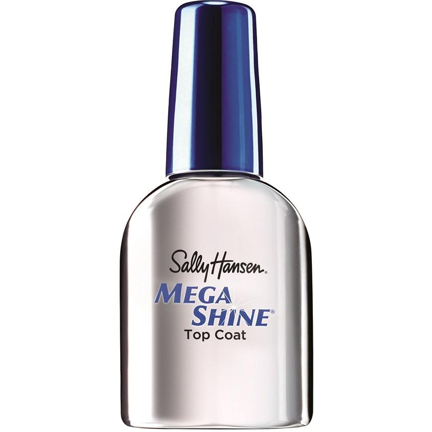 Купить SALLY HANSEN Верхнее покрытие-сушка с зеркальным блеском Mega Shine Extended Wear Top Coat