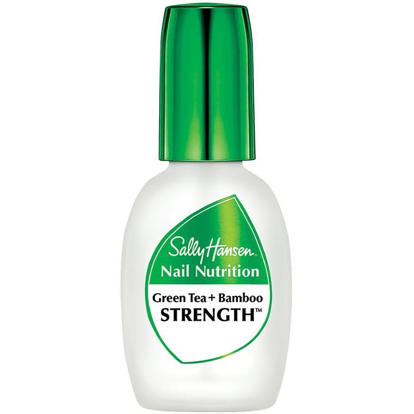 Купить SALLY HANSEN Средство 2 в 1: база и верхнее покрытие для восстановления и блеска Nail Nutrition Strength