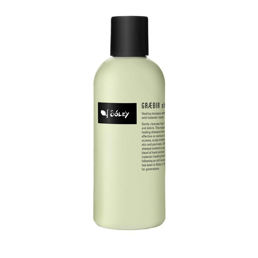 SOLEY ORGANICS Шампунь для волос против раздраженной кожи