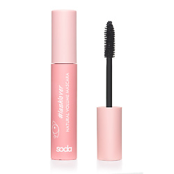 SODA NATURAL VOLUME MASCARA #lashlover ТУШЬ ДЛЯ РЕСНИЦ 001 YAS GIRL! 9,3 мл тушь для ресниц rimmel volume shake 001 цвет 001 variant hex name 000000