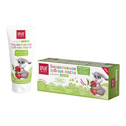 SPLAT Детская зубная паста KIDS 2-6 лет ЗЕМЛЯНИКА-ВИШНЯ 50 мл