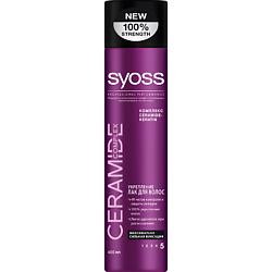 SYOSS Лак для волос Укрепление максимально сильная фиксация Ceramide Complex 400 мл