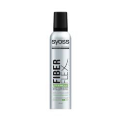 SYOSS Мусс для волос экстрасильной фиксации FiberFlex Упругая Фиксация 250 мл