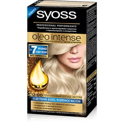 SYOSS Краска для волос Oleo Intense 2-10 Чёрно-каштановый