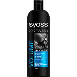 SYOSS Шампунь для сухих, поврежденных волос Volume Lift 500 мл