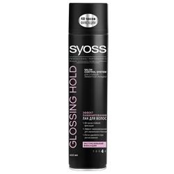 цена на SYOSS SYOSS Лак для волос Shine&Hold 400 мл