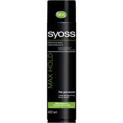 SYOSS Лак для волос Max Hold 75 мл