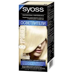 SYOSS Краска для волос Syoss Color 12-0 Интенсивный осветлитель