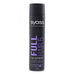 SYOSS Лак для волос Full Hair 5 Густота и Объем 400 мл