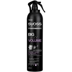 SYOSS Лак для волос лифтинг-эффект  фиксация Big SEXY VOLUME 300 мл