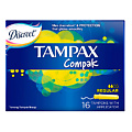 TAMPAX Compak Тампоны женские гигиенические с аппликатором Regular Duo