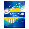 TAMPAX Discreet Pearl Тампоны женские гигиенические с аппликатором Regular Duo