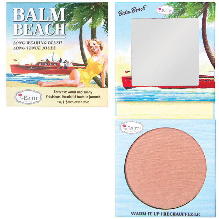 THEBALM Румяна для лица Balm Beach