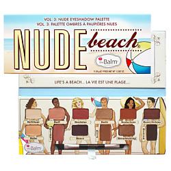 THE BALM Палетка теней Nude Beach 11,08 г too faced сhocolate bon bons палетка теней сhocolate bon bons палетка теней