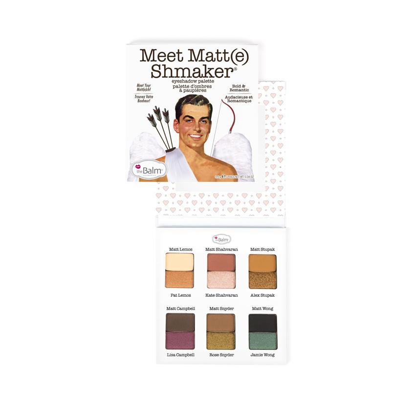 THEBALM Палетка теней Meet Matt(e) Shmaker