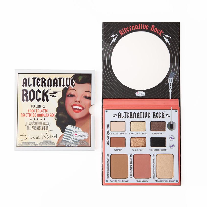 Купить THEBALM Палетка для макияжа лица Альтёрнатив Рок Вол.2
