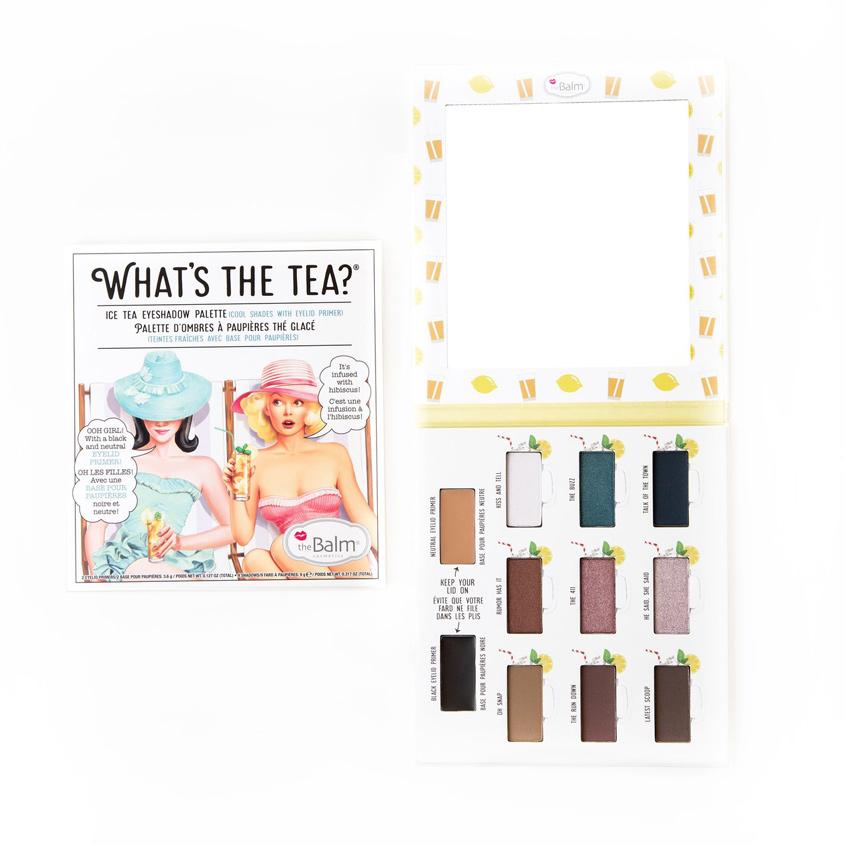 Купить THEBALM Палетка теней What`s the Tea COLD TEA