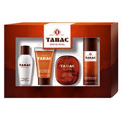 TABAC ORIGINAL Набор из 4-х предметов Лосьон после бритья 50 мл + Гель для душа 50 мл + Мыло 50 г + Дезодорант 50 мл