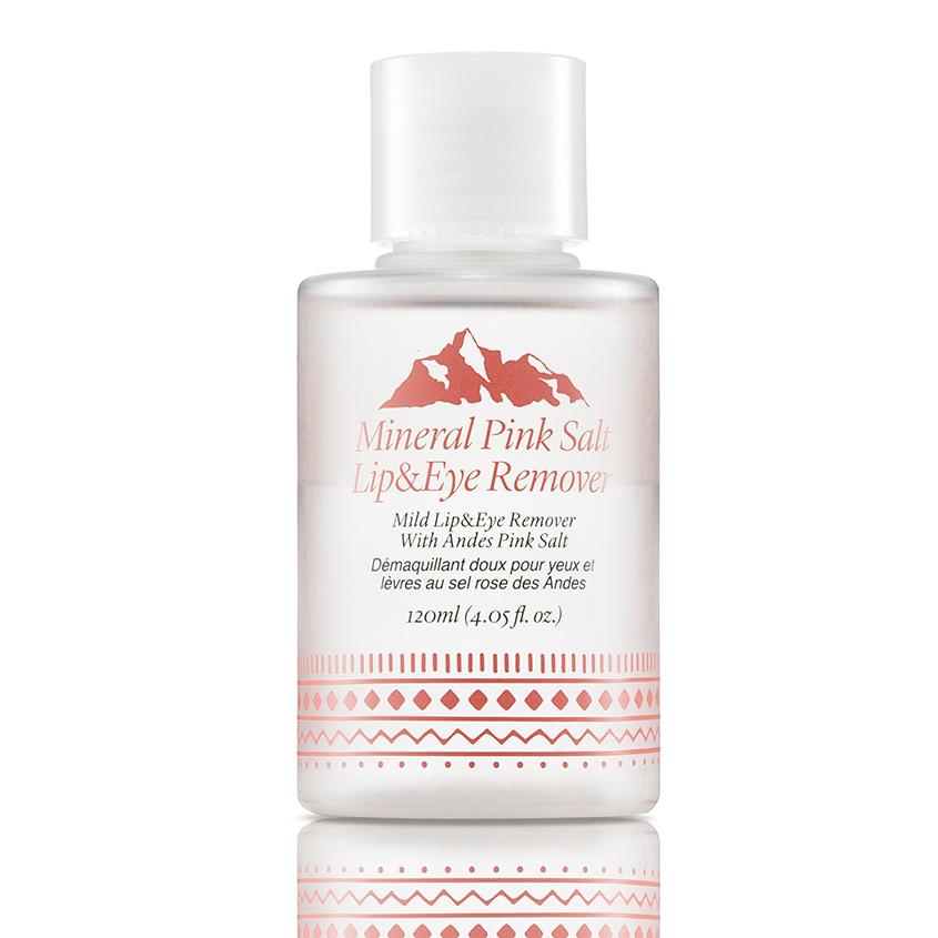 TOO COOL FOR SCHOOL Средство для снятия макияжа с глаз и губ с минеральной розовой солью MINERAL PINK SALT