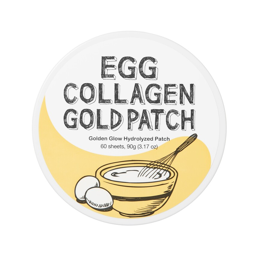 Купить TOO COOL FOR SCHOOL Патчи гелевые для глаз с коллагеном и яичным экстрактом