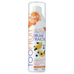 TOOFRUIT Вода детская для лица очищающая фруктовая Апельсин-Черника 100 мл