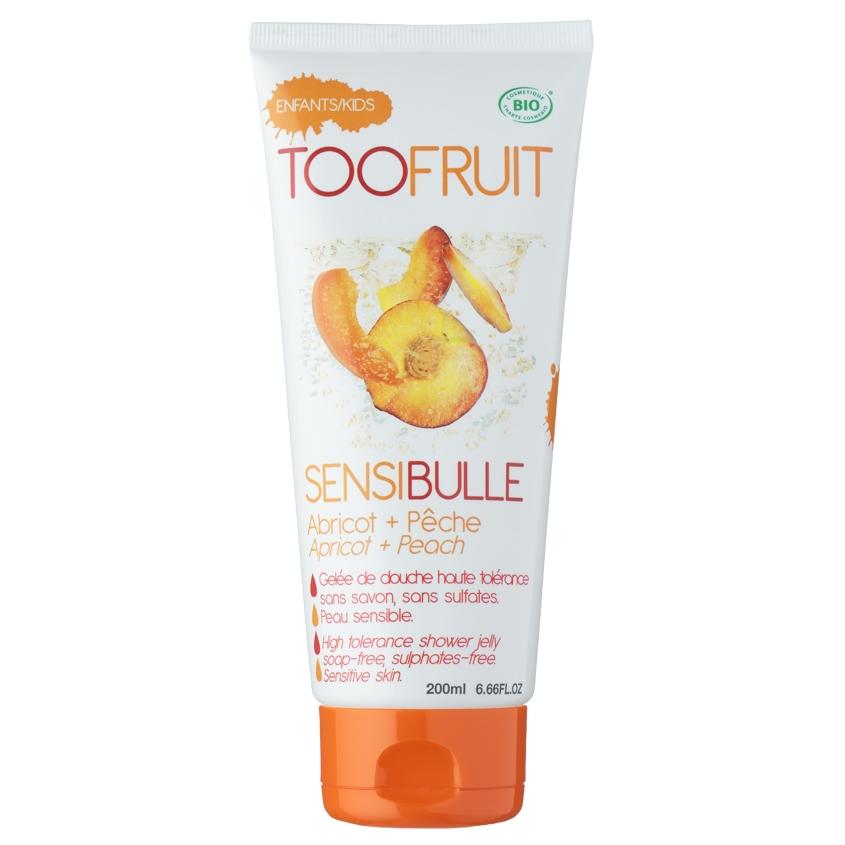 Купить TOOFRUIT Гель для душа детский без мыла для чувствительной кожи Абрикос-Персик