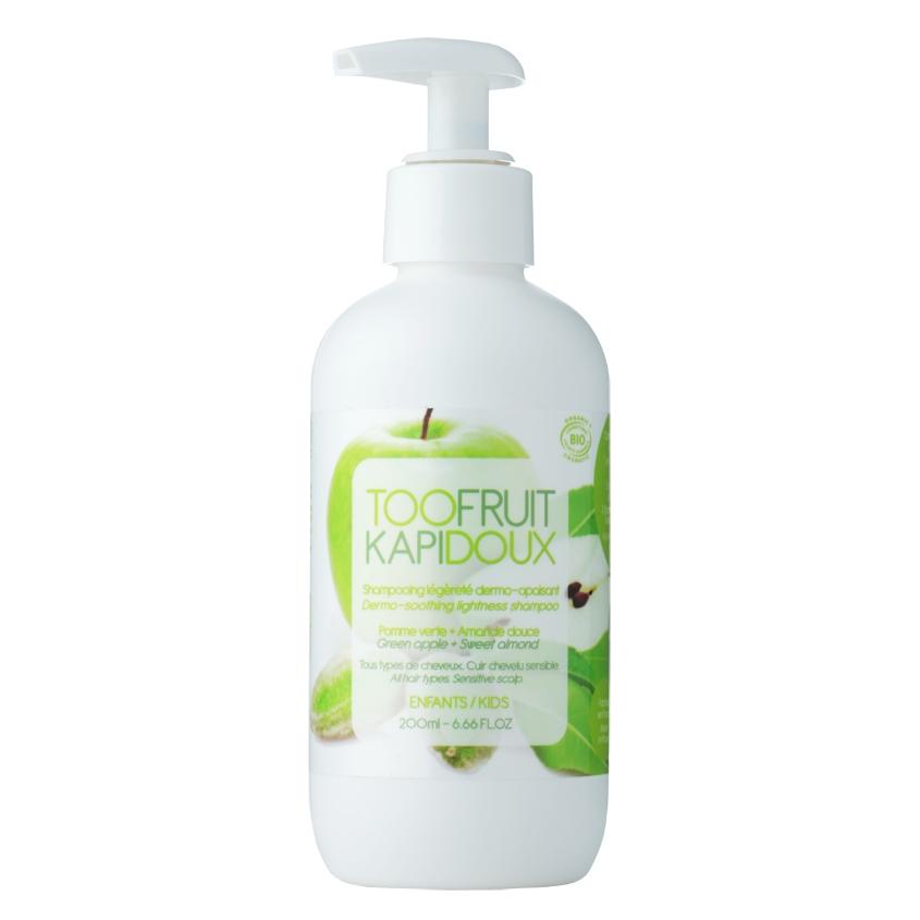 TOOFRUIT Шампунь детский для волос Зеленое яблоко-Миндаль