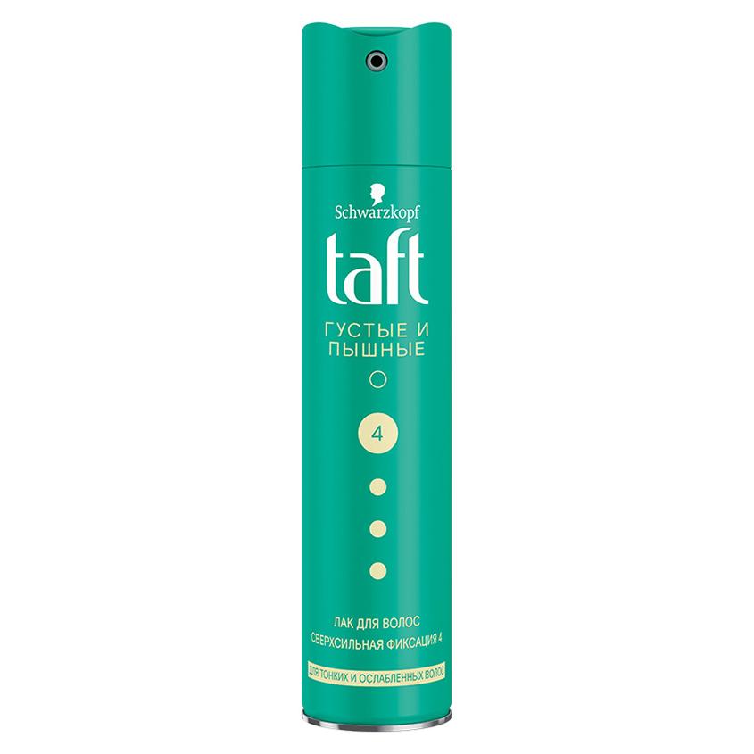 TAFT Лак для волос Густые и Пышные, для тонких и ослабленных волос, сверхсильная фиксация
