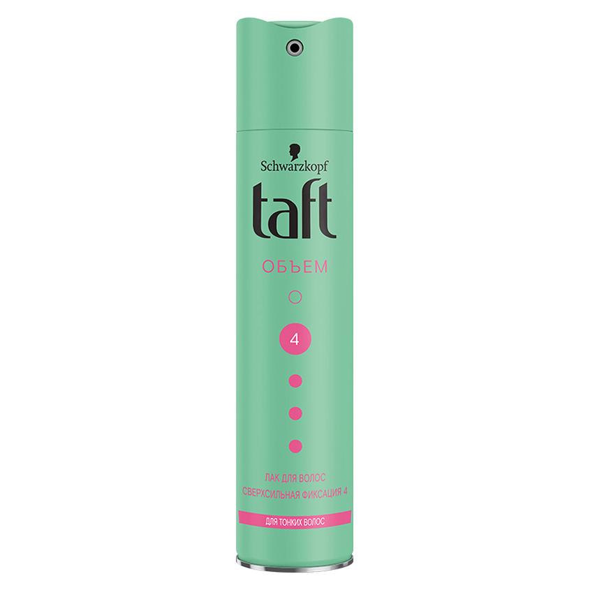 """TAFT Лак для волос """"Сила объема"""" для тонких волос сверхсильной фиксации"""