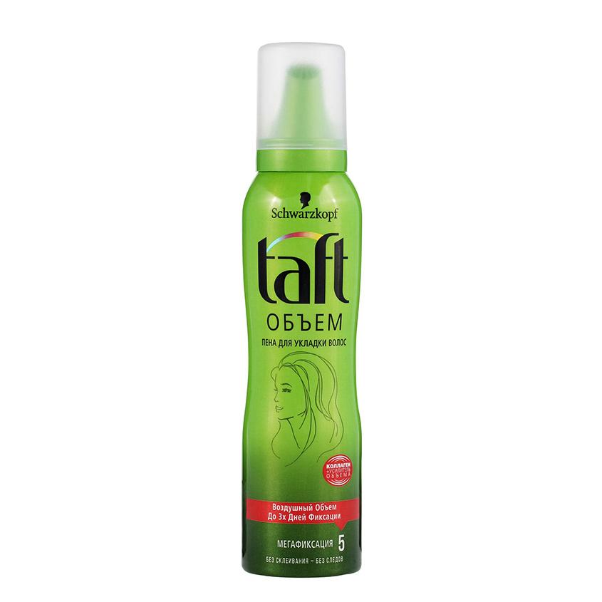 TAFT Мусс для волос Объем мегафиксация