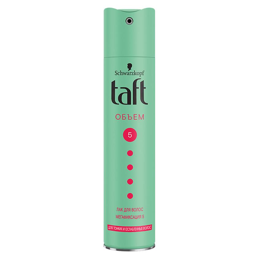 Купить TAFT Лак для волос Объем мегафиксация