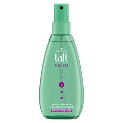 TAFT Жидкость для укладки волос Сила объема сверхсильной фиксации 150 мл