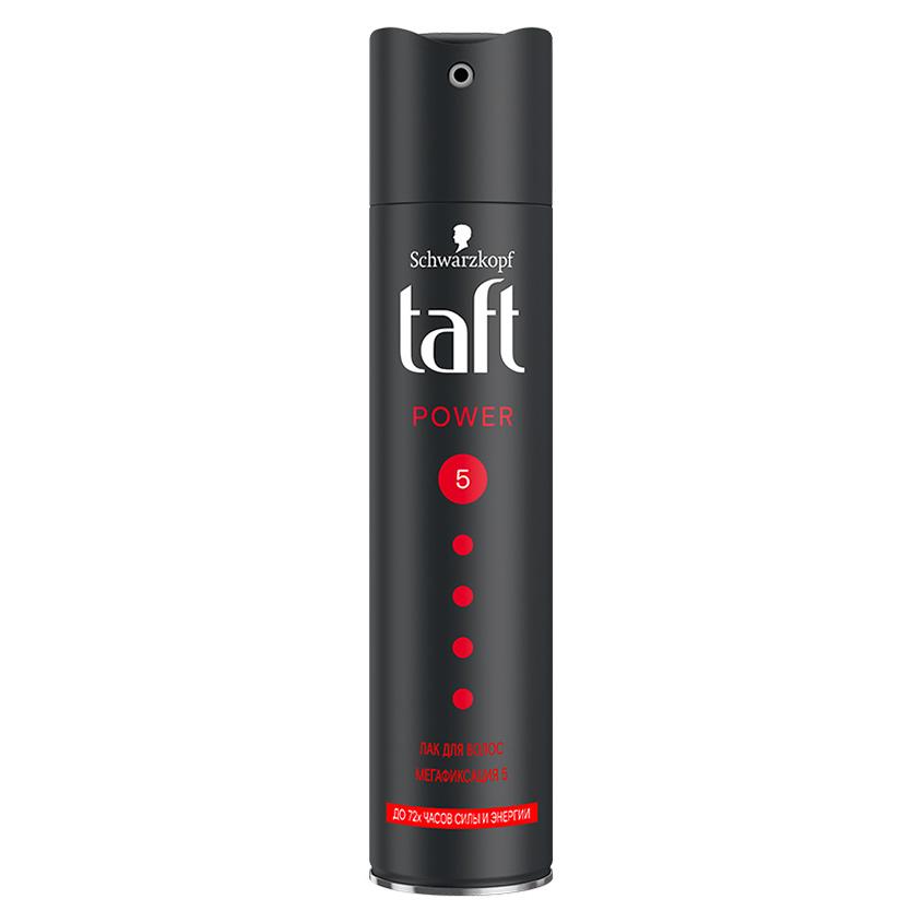 TAFT Лак для волос Power с витаминами мегафиксации