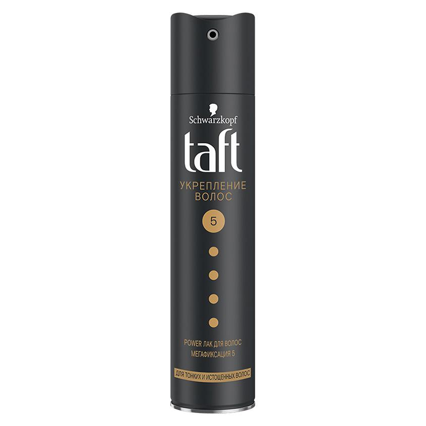 Купить TAFT Лак для волос Укрепление волос мегафиксация