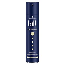TAFT Лак для волос Три погоды Ultimate гиперфиксация 225 мл