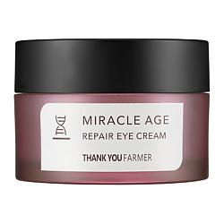 THANK YOU FARMER Крем для глаз антивозрастной восстанавливающий 20 мл the yeon jeju canola медовый крем для кожи вокруг глаз 30мл